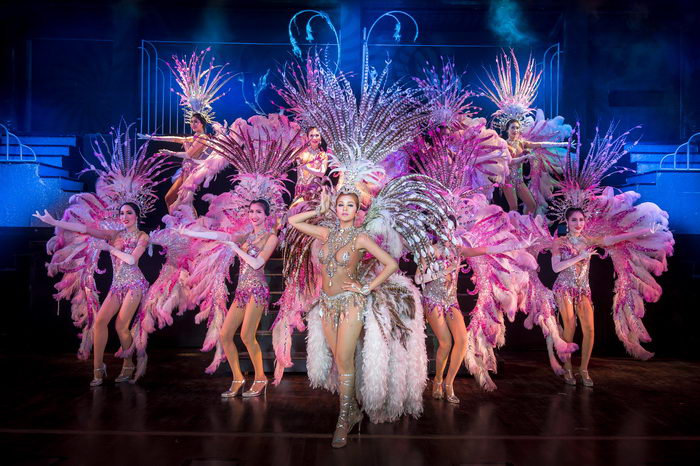 Exclusive, luxurious and intimate theater of Phuket Simon Cabaret