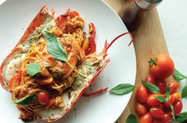 New Seasonal Canadian Lobster Dishes at La VIE Creative French Cuisine