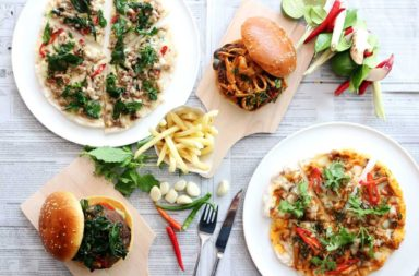 New Thai Twist with Burgers and Pizza at Dream Bangkok