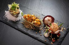 Durian and Mangosteen Dishes at Hilton Pattaya