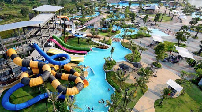 3 Thailand Water Parks are named among Top 10 in Asia by TripAdvisor